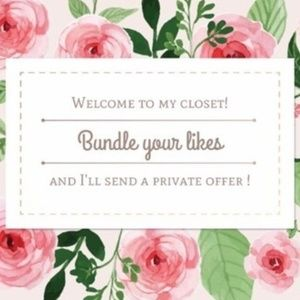 🌿🌿🌿 Bundle your likes for a private offer!